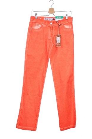 Παιδικό παντελόνι Million X, Μέγεθος 15-18y/ 170-176 εκ., Χρώμα Πορτοκαλί, 98% βαμβάκι, 2% ελαστάνη, Τιμή 10,64€