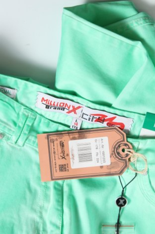 Παιδικό παντελόνι Million X, Μέγεθος 15-18y/ 170-176 εκ., Χρώμα Πράσινο, 98% βαμβάκι, 2% ελαστάνη, Τιμή 9,60€