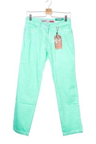 Παιδικό παντελόνι Million X, Μέγεθος 12-13y/ 158-164 εκ., Χρώμα Πράσινο, 98% βαμβάκι, 2% ελαστάνη, Τιμή 9,60€