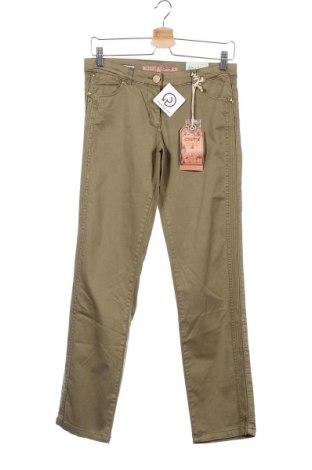 Παιδικό παντελόνι Million X, Μέγεθος 13-14y/ 164-168 εκ., Χρώμα Πράσινο, 98% βαμβάκι, 2% ελαστάνη, Τιμή 8,84€