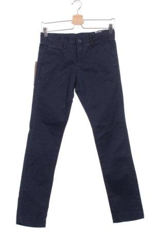 Dětské kalhoty  Teddy Smith, Velikost 11-12y/ 152-158 cm, Barva Modrá, 97% bavlna, 3% elastan, Cena  171,00Kč