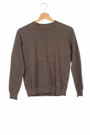 Παιδικό πουλόβερ Massimo Dutti, Μέγεθος 11-12y/ 152-158 εκ., Χρώμα Πράσινο, Βαμβάκι, Τιμή 30,54€