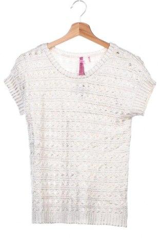 Детски пуловер Material Girl, Размер 13-14y/ 164-168 см, Цвят Бял, Акрил, Цена 14,96лв.