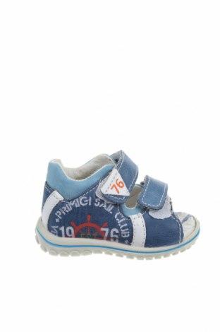Детски сандали Primigi, Размер 18, Цвят Син, Текстил, Цена 26,95лв.