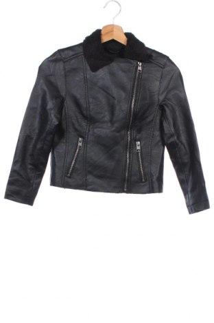 Παιδικό δερμάτινο μπουφάν Target, Μέγεθος 8-9y/ 134-140 εκ., Χρώμα Μαύρο, Δερματίνη, Τιμή 17,66€