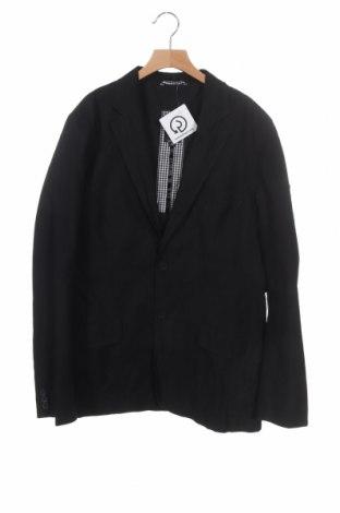 Παιδικό σακάκι Junior B., Μέγεθος 14-15y/ 168-170 εκ., Χρώμα Μαύρο, 77% βαμβάκι, 23% πολυεστέρας, Τιμή 8,18€