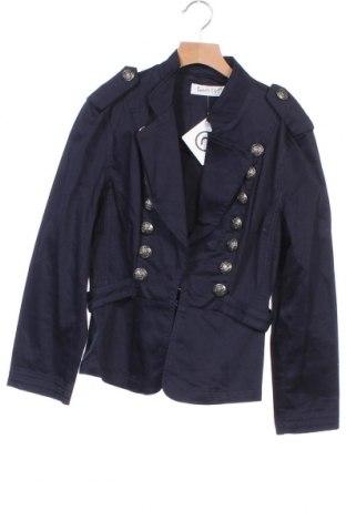 Παιδικό σακάκι Sunny Girl, Μέγεθος 9-10y/ 140-146 εκ., Χρώμα Μπλέ, 95% βαμβάκι, 5% ελαστάνη, Τιμή 15,20€