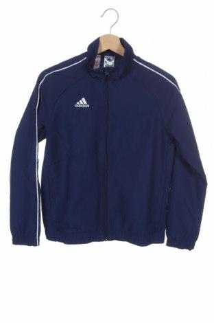 Παιδικό αθλητικό πάνω φόρμα Adidas, Μέγεθος 11-12y/ 152-158 εκ., Χρώμα Μπλέ, Πολυεστέρας, Τιμή 17,43€