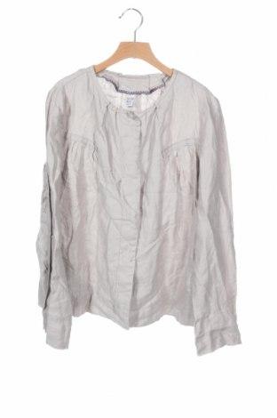 Παιδικό μπουφάν Zara Kids, Μέγεθος 13-14y/ 164-168 εκ., Χρώμα  Μπέζ, Λινό, Τιμή 14,03€