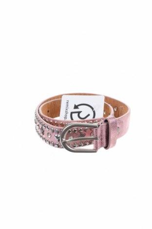 Колан, Цвят Розов, Естествена кожа, Цена 8,82лв.