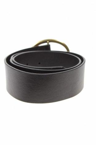 Ζώνη Massimo Dutti, Χρώμα Μαύρο, Γνήσιο δέρμα, Τιμή 11,44€