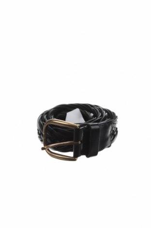 Колан Massimo Dutti, Цвят Черен, Естествена кожа, Цена 48,72лв.