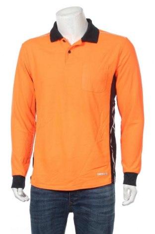Мъжка блуза, Размер L, Цвят Оранжев, Полиестер, Цена 5,78лв.