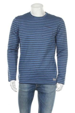 Ανδρική μπλούζα Tom Tailor, Μέγεθος M, Χρώμα Μπλέ, 60% βαμβάκι, 40% πολυεστέρας, Τιμή 9,12€