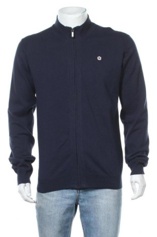 Pánský kardigán Teddy Smith, Velikost XL, Barva Modrá, 70% bavlna, 30% polyamide, Cena  350,00Kč