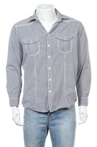 Ανδρικό πουκάμισο Manguun, Μέγεθος L, Χρώμα Μαύρο, Βαμβάκι, Τιμή 9,35€