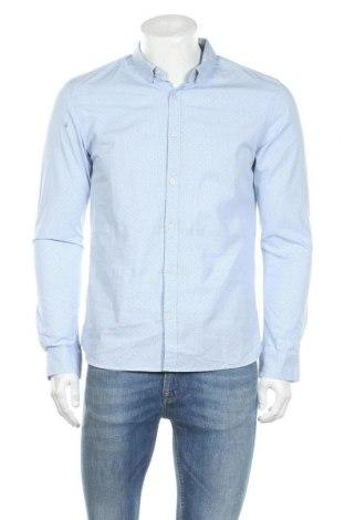 Ανδρικό πουκάμισο Teddy Smith, Μέγεθος M, Χρώμα Μπλέ, Βαμβάκι, Τιμή 12,45€