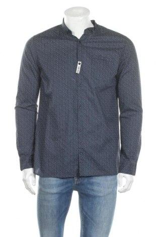 Мъжка риза Teddy Smith, Размер M, Цвят Син, Памук, Цена 51,75лв.