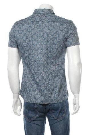 Мъжка риза Teddy Smith, Размер M, Цвят Син, Памук, Цена 39,00лв.