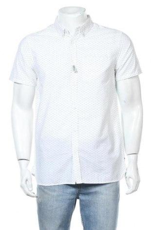 Ανδρικό πουκάμισο Teddy Smith, Μέγεθος M, Χρώμα Λευκό, Βαμβάκι, Τιμή 13,40€