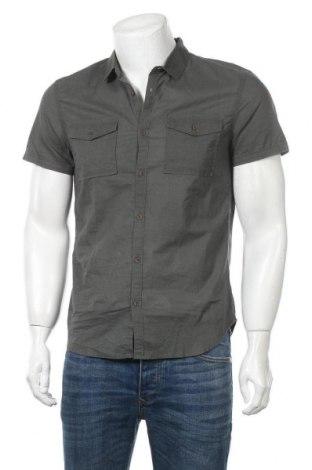 Мъжка риза Teddy Smith, Размер M, Цвят Зелен, Памук, Цена 23,40лв.