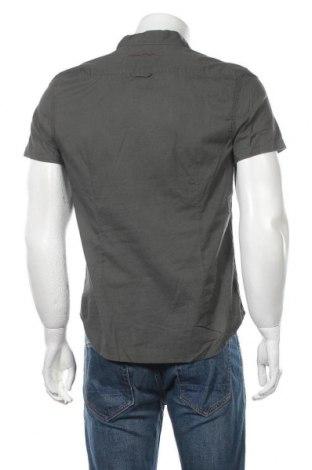 Мъжка риза Teddy Smith, Размер M, Цвят Зелен, Памук, Цена 39,00лв.