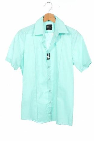 Ανδρικό πουκάμισο Venti, Μέγεθος XS, Χρώμα Πράσινο, Βαμβάκι, Τιμή 7,60€