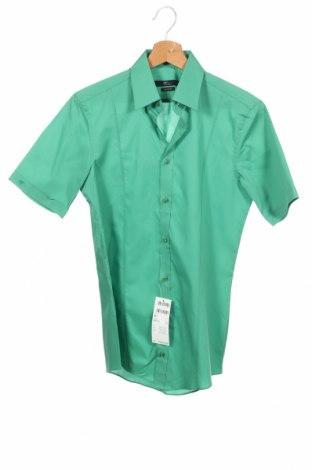 Мъжка риза Venti, Размер XS, Цвят Зелен, Памук, Цена 14,75лв.