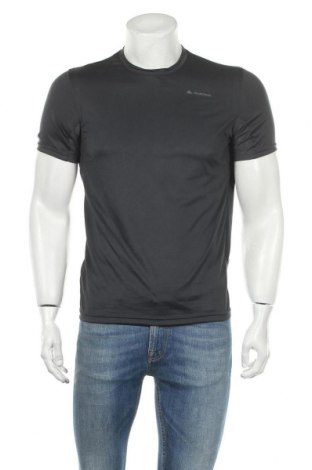Мъжка тениска Quechua, Размер M, Цвят Сив, Полиестер, Цена 9,45лв.