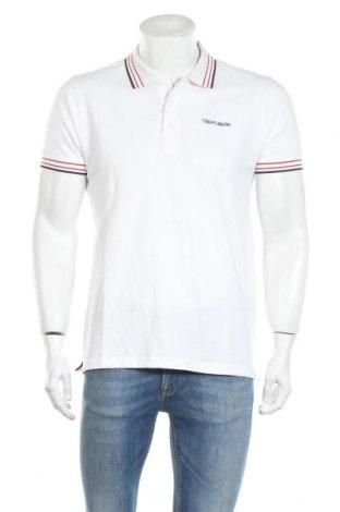 Pánské tričko  Teddy Smith, Velikost L, Barva Bílá, Bavlna, Cena  243,00Kč