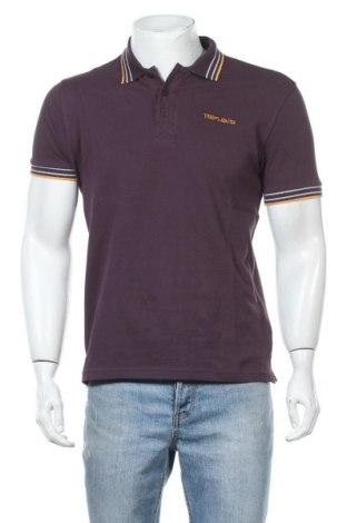 Ανδρικό t-shirt Teddy Smith, Μέγεθος M, Χρώμα Βιολετί, Βαμβάκι, Τιμή 9,05€