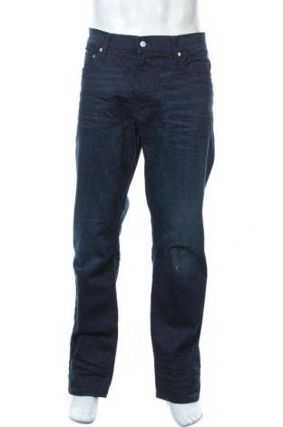 Мъжки дънки Calvin Klein Jeans, Размер XL, Цвят Син, 98% памук, 2% еластан, Цена 50,40лв.