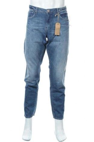 Мъжки дънки H&M L.O.G.G., Размер L, Цвят Син, Памук, Цена 36,23лв.