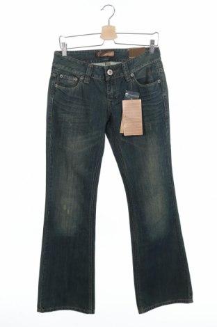 Дамски дънки Kenvelo, Размер M, Цвят Син, Памук, Цена 17,64лв.