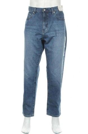 Мъжки дънки Uniqlo, Размер L, Цвят Син, Памук, Цена 29,93лв.