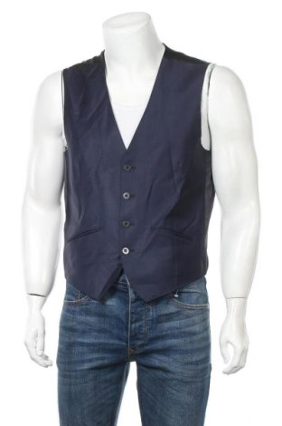 Мъжки елек Lagerfeld, Размер L, Цвят Син, Цена 25,25лв.