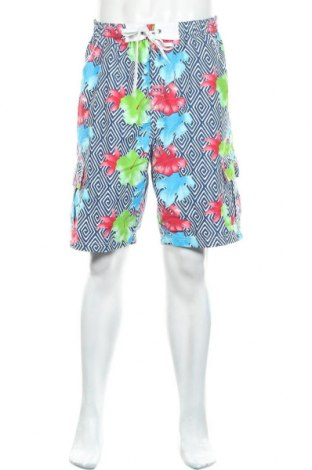 Мъжки къс панталон Fabiani, Размер XL, Цвят Многоцветен, Полиестер, Цена 16,07лв.