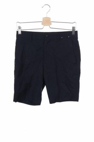 Мъжки къс панталон Uniqlo, Размер XS, Цвят Син, Полиестер, Цена 14,96лв.