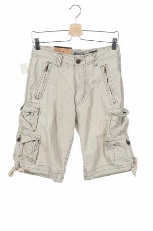 Мъжки къс панталон Urban Heritage, Размер S, Цвят Сив, Памук, Цена 8,40лв.