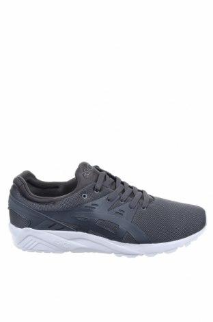 Мъжки обувки ASICS, Размер 48, Цвят Сив, Текстил, еко кожа, Цена 52,89лв.