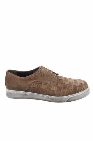 Ανδρικά παπούτσια Alberto Guardiani, Μέγεθος 42, Χρώμα  Μπέζ, Φυσικό σουέτ, Τιμή 45,16€