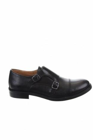 Мъжки обувки British Passport, Размер 40, Цвят Черен, Естествена кожа, Цена 87,15лв.