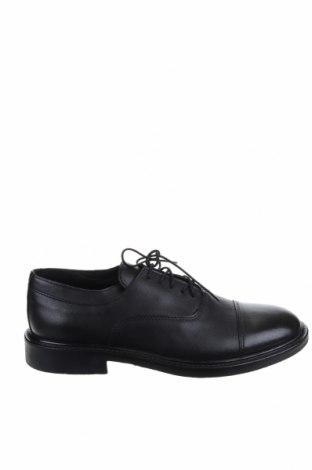 Ανδρικά παπούτσια CAFèNOIR, Μέγεθος 39, Χρώμα Μαύρο, Γνήσιο δέρμα, Τιμή 51,46€