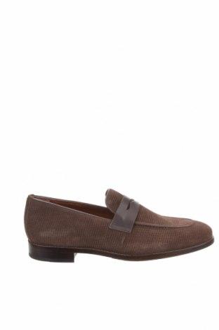 Ανδρικά παπούτσια Frau, Μέγεθος 42, Χρώμα Καφέ, Φυσικό σουέτ, Τιμή 53,74€