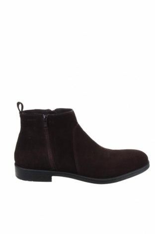 Ανδρικά παπούτσια Geox, Μέγεθος 45, Χρώμα Καφέ, Φυσικό σουέτ, Τιμή 88,53€