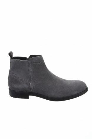 Мъжки обувки Geox, Размер 41, Цвят Сив, Естествен велур, Цена 194,25лв.
