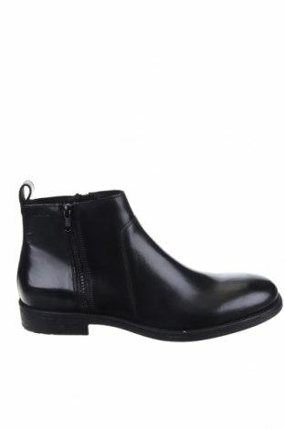 Мъжки обувки Geox, Размер 43, Цвят Черен, Естествена кожа, Цена 194,25лв.