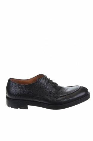 Ανδρικά παπούτσια Moreschi, Μέγεθος 43, Χρώμα Μαύρο, Γνήσιο δέρμα, Τιμή 204,51€