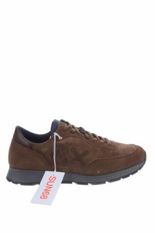 Мъжки обувки SUN68, Размер 40, Цвят Кафяв, Естествен велур, Цена 149,25лв.