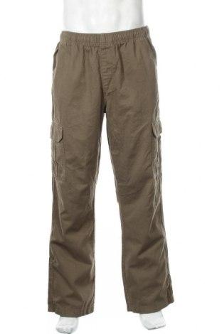 Мъжки панталон, Размер L, Цвят Зелен, Памук, Цена 34,91лв.